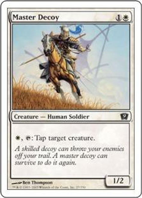 MtG 9th Edition Common Master Decoy #27