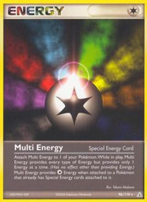 Pokemon EX Holon Phantoms Rare Multi Energy #96