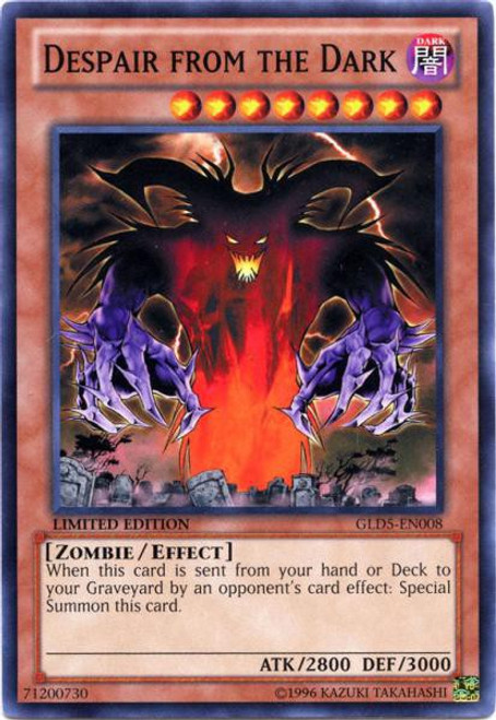 YuGiOh Gold Series 5: Haunted Mine Common Despair from the Dark GLD5-EN008