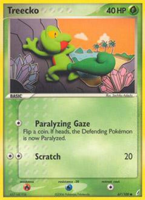 Pokemon EX Crystal Guardians Common Treecko #67