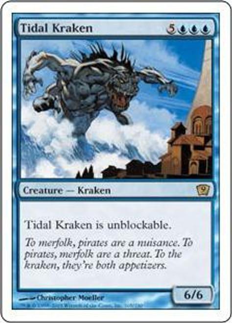 MtG 9th Edition Rare Tidal Kraken #105