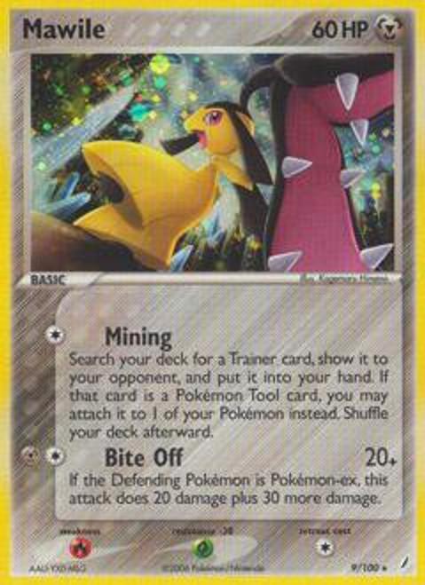 Pokemon EX Crystal Guardians Rare Mawile #9