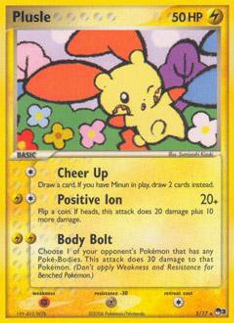 Pokemon Trading Card Game Organized Play Series 3 Rare Plusle #5