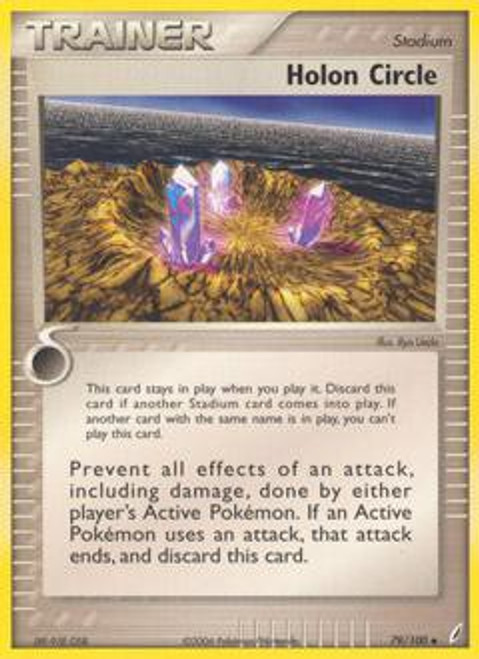 Pokemon EX Crystal Guardians Uncommon Holon Circle #79