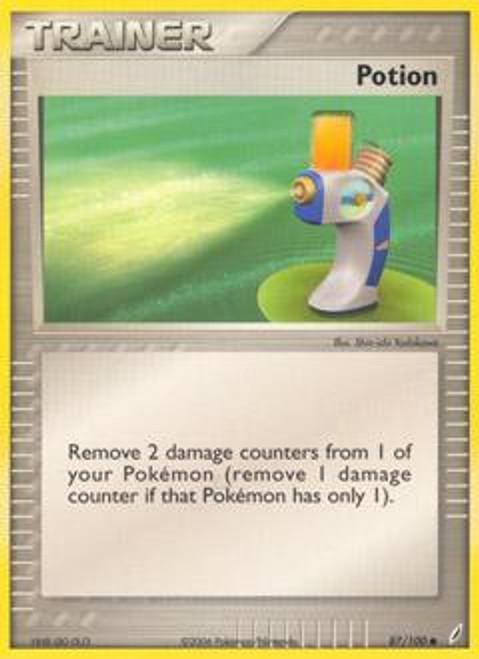 Pokemon EX Crystal Guardians Common Potion #87