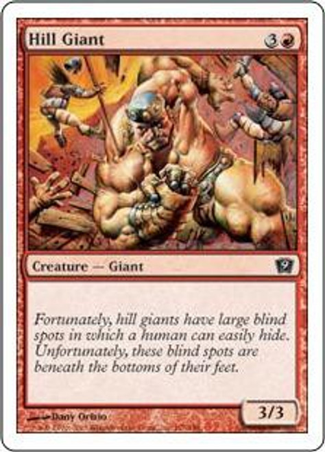 MtG 9th Edition Common Hill Giant #197