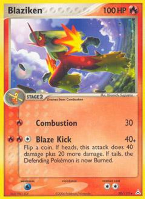 Pokemon EX Holon Phantoms Rare Blaziken #20