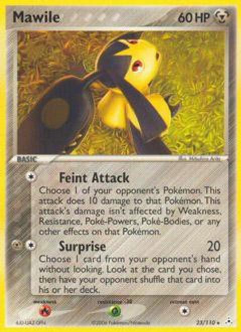 Pokemon EX Holon Phantoms Rare Mawile #23