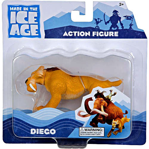 Ice Age Continental Drift Diego Action Figure [Loose]
