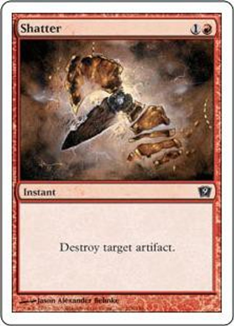 MtG 9th Edition Common Shatter #218