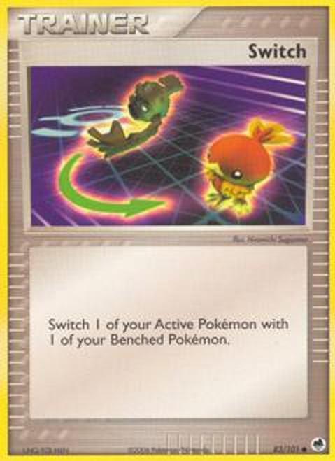 Pokemon EX Dragon Frontiers Common Switch #83