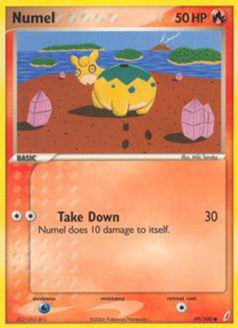 Pokemon EX Crystal Guardians Common Numel #59