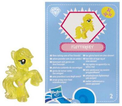 My Little Pony Series 3 Glitter Fluttershy 2-Inch PVC Figure