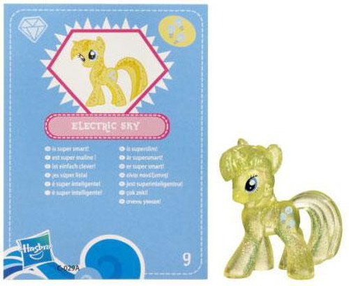 My Little Pony Series 3 Glitter Electric Sky 2-Inch PVC Figure