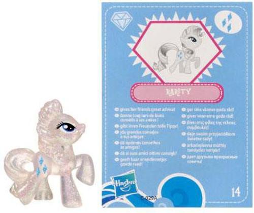 My Little Pony Series 3 Glitter Rarity 2-Inch PVC Figure