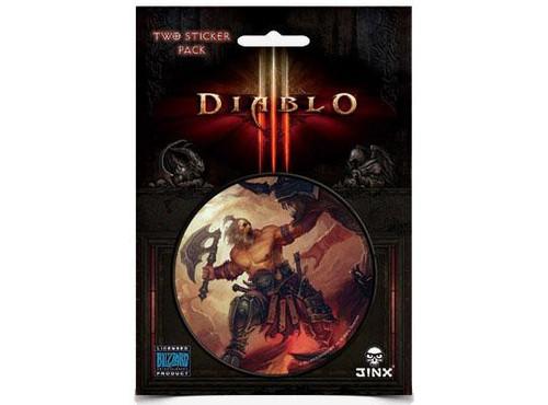 Diablo III Barbarian Sticker 2-Pack