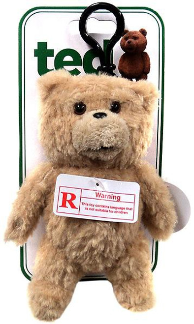 """Ted Movie Ted Plush Backpack Clip [""""R"""" Version]"""