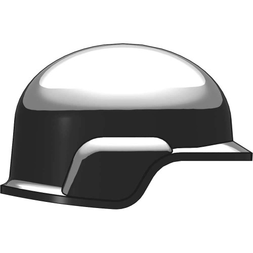 BrickArms Modern Combat Helmet 2.5-Inch [Gray Rubber]