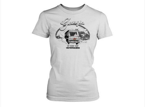 The Walking Dead RV There Yet T-Shirt [Women's Small]