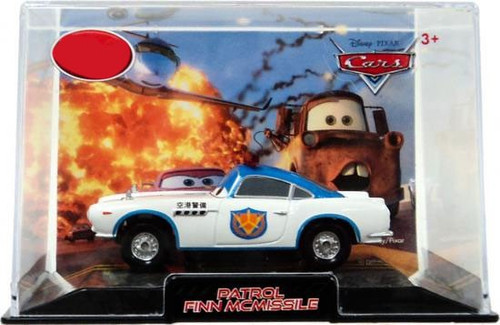 Disney / Pixar Cars Cars 2 1:43 Collectors Case Patrol Finn McMissile Exclusive Diecast Car