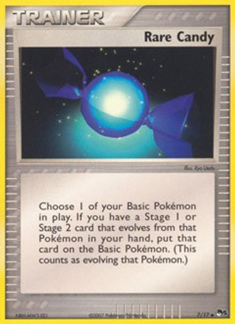 Pokemon Trading Card Game Organized Play Series 5 Uncommon Rare Candy #7