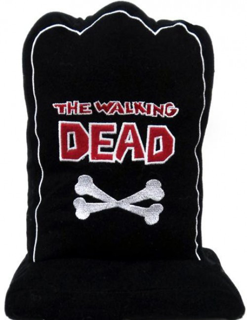 The Walking Dead Black Tombstone Plush Figure