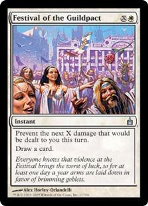 MtG Ravnica: City of Guilds Uncommon Festival of the Guildpact #17