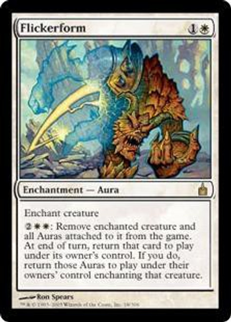 MtG Ravnica: City of Guilds Rare Flickerform #18