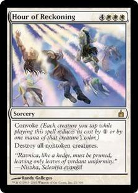 MtG Ravnica: City of Guilds Rare Hour of Reckoning #21