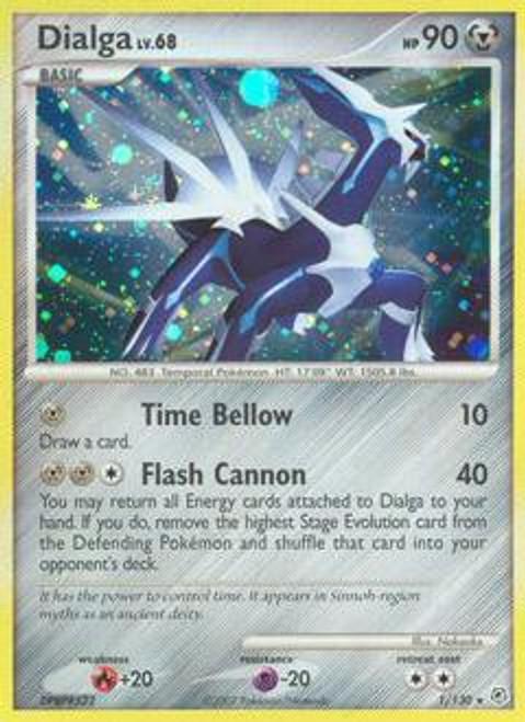 Pokemon Diamond & Pearl Rare Dialga #1