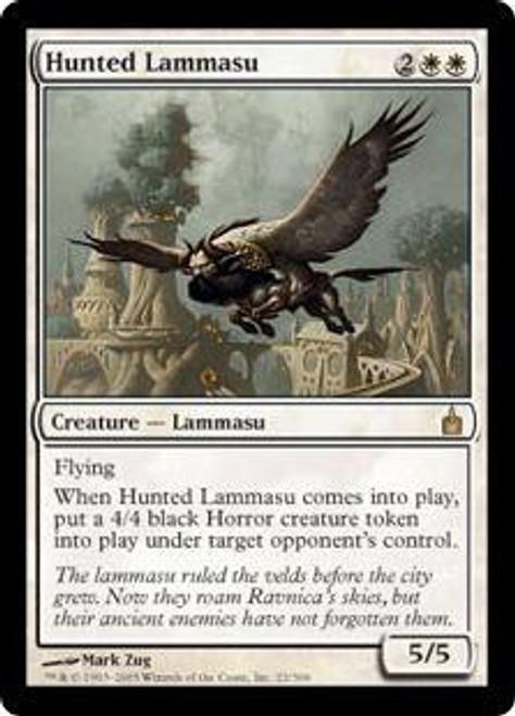 MtG Ravnica: City of Guilds Rare Hunted Lammasu #22