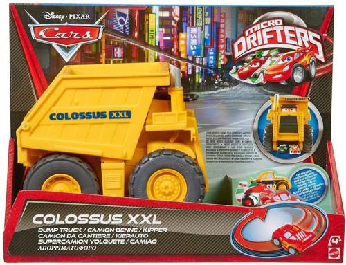 Disney / Pixar Cars Micro Drifters Colossus XXL Car-Chomping Dump Truck