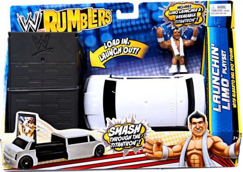 WWE Wrestling Rumblers Series 2 Launchin' Limo Mini Figure Playset [With Alberto Del Rio]