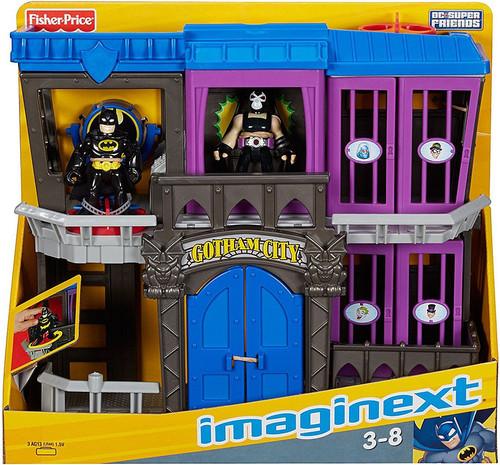 Fisher Price DC Super Friends Imaginext Gotham City Jail 3-Inch Figure Set