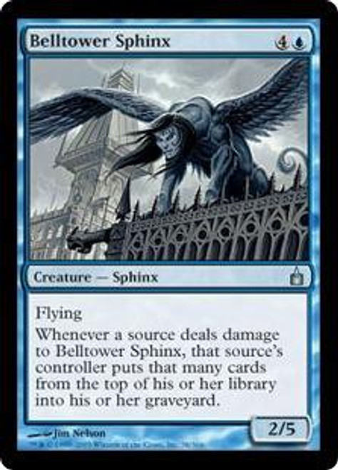 MtG Ravnica: City of Guilds Uncommon Belltower Sphinx #38