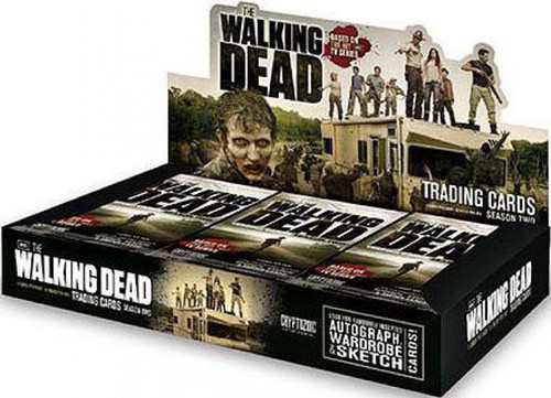 The Walking Dead AMC TV TV Season 2 Trading Card Box Trading Card Box
