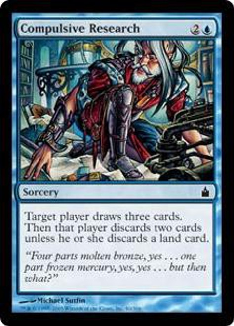 MtG Ravnica: City of Guilds Common Compulsive Research #40