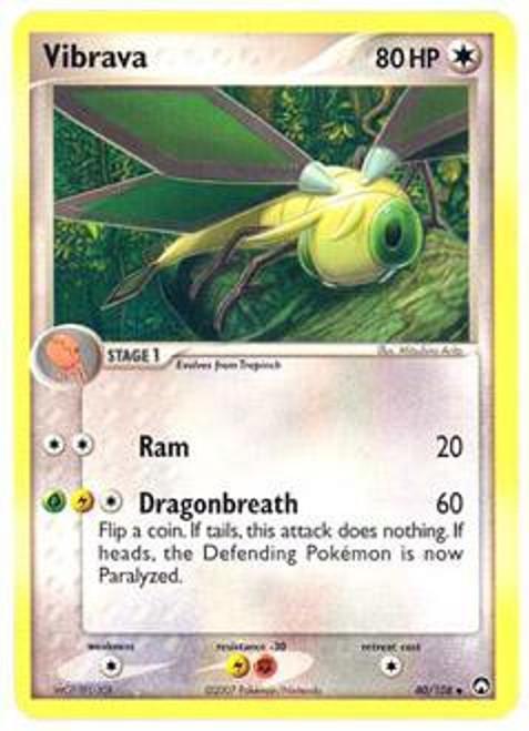 Pokemon EX Power Keepers Uncommon Vibrava #40