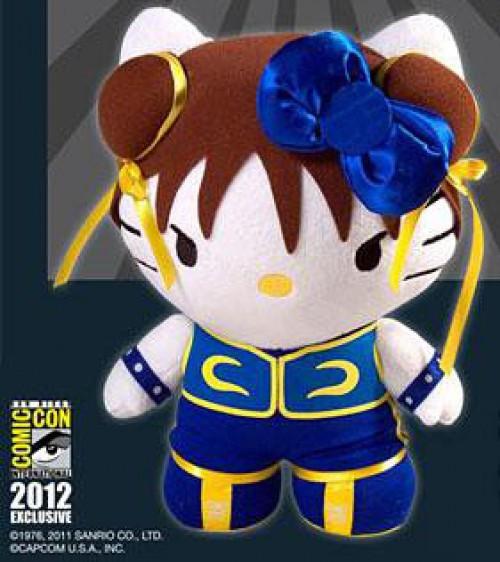 Street Fighter X Hello Kitty Chun Li Exclusive Plush Figure