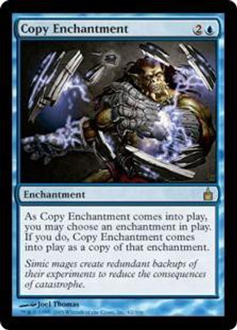 MtG Ravnica: City of Guilds Rare Copy Enchantment #42