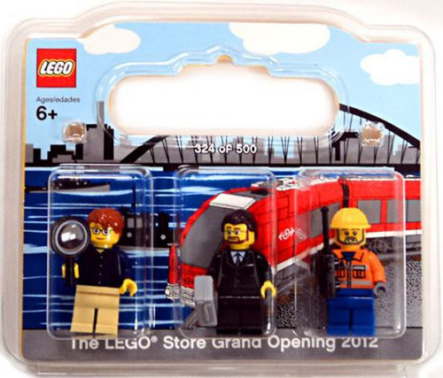 Exclusives LEGO Store Grand Opening 2012 Mini Figure 3-Pack Exclusive #852766