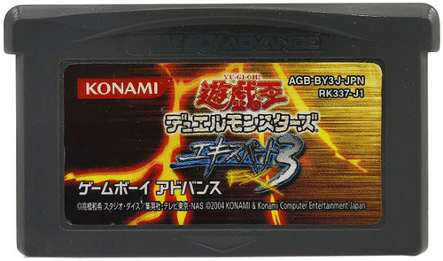 YuGiOh Gameboy Advance Duel Monsters Expert 3 Video Game [Opened]