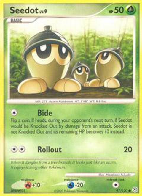 Pokemon Diamond & Pearl Common Seedot #97