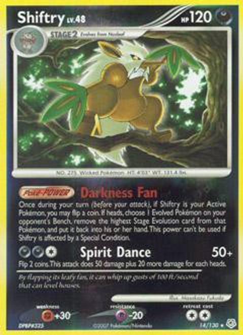 Pokemon Diamond & Pearl Rare Shiftry #14