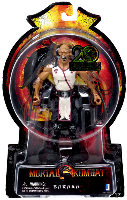 Mortal Kombat 20th Anniversary Baraka Action Figure