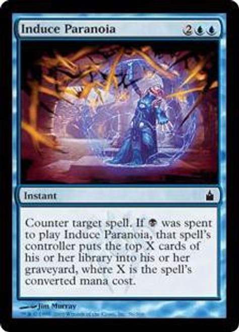 MtG Ravnica: City of Guilds Common Induce Paranoia #56