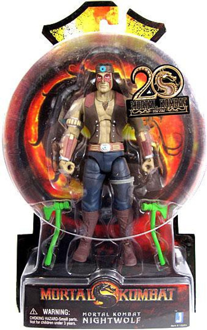 Mortal Kombat 20th Anniversary Nightwolf Action Figure
