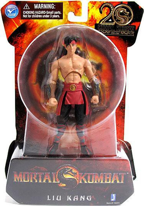 Mortal Kombat MK9 Liu Kang Action Figure