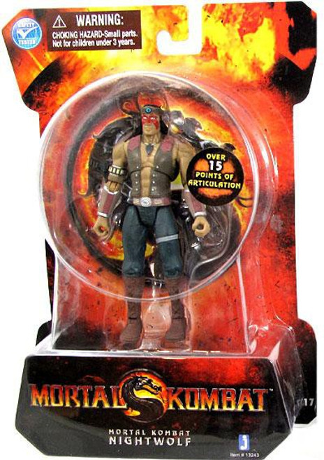 Mortal Kombat MK9 Nightwolf Action Figure