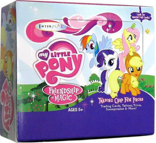 Friendship is Magic My Little Pony Series 1 Trading Card Box [30 Packs]